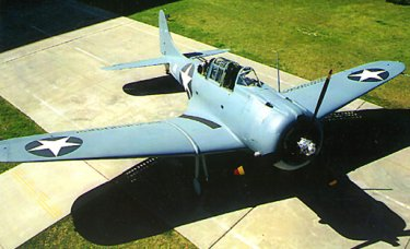 SBD-3 Dauntless by Douglas Aircraft